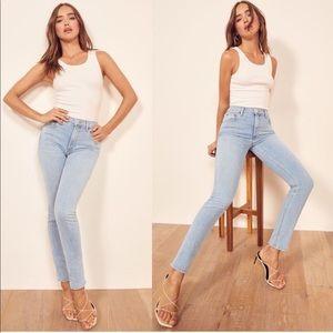 Reformation High & Skinny Jean in Amalfi Size 29